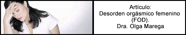 Desorden orgásmico femenino (FOD)